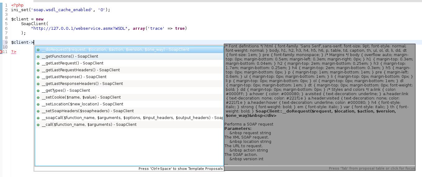 Eclipse Luna 44 Code Assist Cant Render Html On Kde4 Slackware