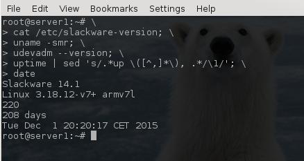 Slackware ARM - eudev