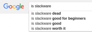 Google search - Is Slackware dead