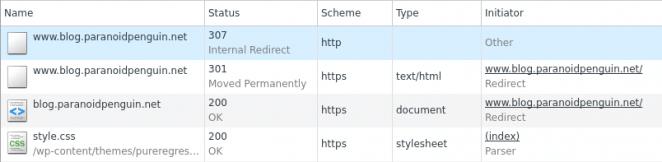 Chrome HSTS Preload