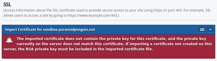 BlueOnyx 5209R – Issues with importing signed certificates ...