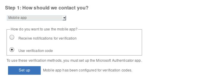 Office 365 - Mobile app verification