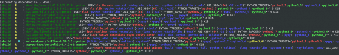 Gentoo - Python3.5 downgrade
