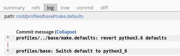 Python 3.6 revert message