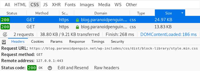Gutenberg wp-block-library-css