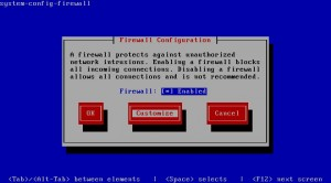 CentOS 6.2 - Customize firewall
